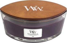 WoodWick lumanare parfumată Fig barca