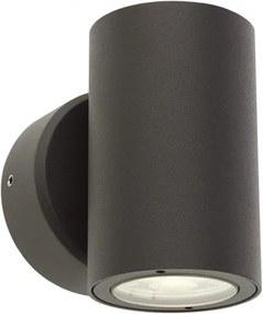 """Aplică exterior LED 2x3W Redo MINIROUND, dispersie directă/indirectă, efect """"wall washer"""""""