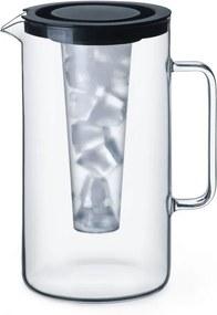 Carafă din sticlă Simax, cu inserție, 2,5 l