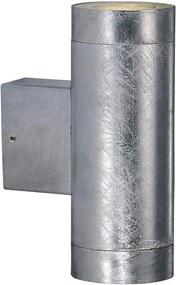 Nordlux Castor Maxi 71381131 Aplice pentru iluminat exterior Zinc 2 x GU10 max. 28W 20,5 x 12,5 x 7,5 cm