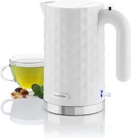 Klarstein Granada Bianca ceainic 1,7 l 2200W alb