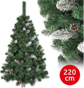 Brad de crăciun SNOW 220 cm pin