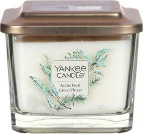 Yankee Candle lumanare parfumata Elevation Arctic Frost pătrata mijlocie 3 fitile