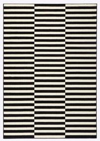 Covor Hanse Home Gloria Panel, 160 x 230 cm, negru - crem