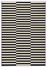 Covor Hanse Home Gloria Panel, 200 x 290 cm, alb - negru