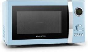 Klarstein Fine Dinesty, 2-în-1 cuptor cu microunde: 23 l, 800 W/grătar: 1000 W, albastru