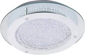 Rábalux 2447 Plafoniere cristal Marion crom metal LED 18W 1620lm 4000K IP20 A+