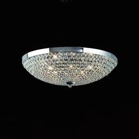 Mantra CRYSTAL 4609 Plafoniere 6xG9 max. 40W Ø48x15 cm