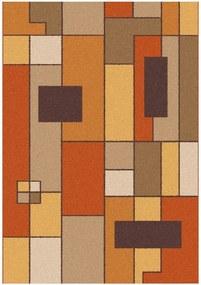 Covor Universal Boras Rust, 57 x 110 cm, maro-portocaliu