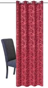 Draperie, rosie, 140 x 245 cm