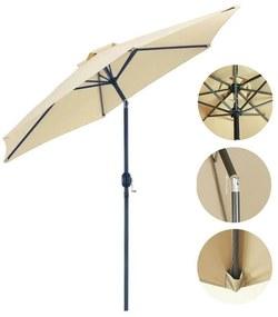 Umbrela de gradina extra mare, inclinabila