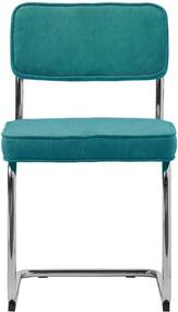Scaun dining Unique Furniture Rupert Bauhaus, albastru