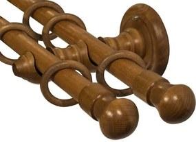 Galerii din lemn: Istanbul Double Ø 28mm