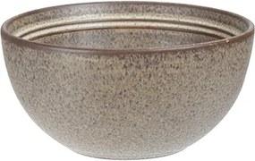 Bol Terra din ceramica maro 14 cm