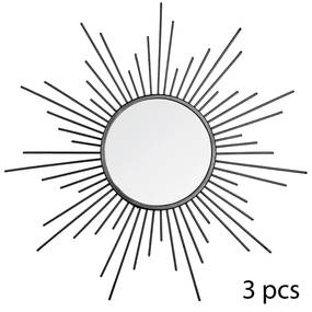 Set 3 decoratiuni de perete cu oglinda JJA Pasery P2