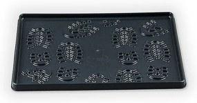 Tavă de scurgere pantofi, antracit, 49 x 35 cm