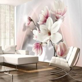Fototapet - White magnolias 400x280 cm