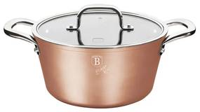 Oala cu capac 24 cm Bronze Titan Collection Berlinger Haus BH 1689