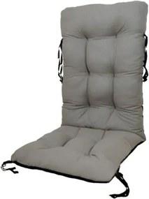 Perna pentru scaun de gradina sau sezlong, 48x48x75cm, culoare gri