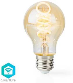 Nedis WIFILT10GDA60 − LED Bec dimmabil inteligent VINTAGE A60 E27/5,5W/230V
