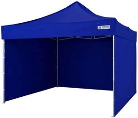 Cort pavilion pliabil 3x3m - Albastru