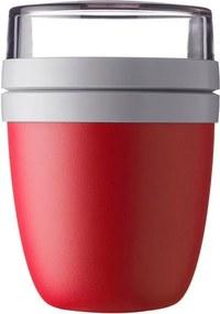 Recipient pentru prânz Rosti Mepal Ellipse, 500 ml, roșu