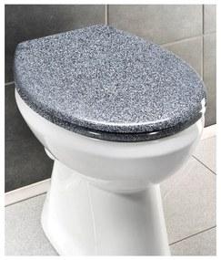 Capac WC din granit Wenko Premium Ottana, 45,2 x 37,6 cm,