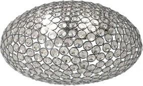 Aplică de perete Incanti LILAS cu cristale octogonale încastrate