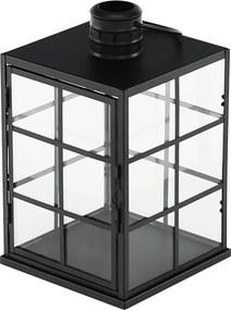 Felinar lumânare, negru, ELIJAR TYP 1