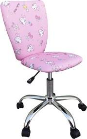 Scaun de birou pentru copii Hello Kitty