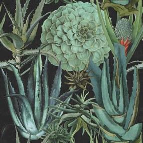 MINDTHEGAP Tapet - Succulentus Anthracite