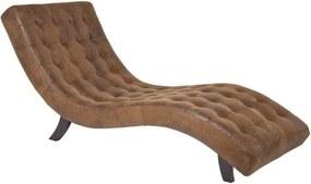 Șezlong Kare Design Snake, maro