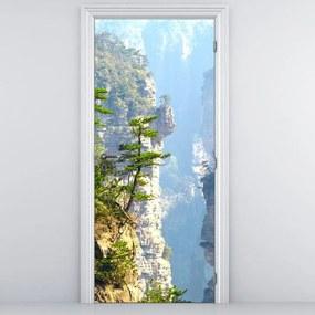 Fototapeta pentru ușă - stânci (95x205cm)