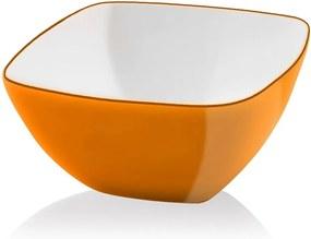 Bol pentru salată Vialli Design, 14 cm, portocaliu