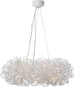 Lucide 31476/93/31 - Lampa suspendata GALILEO 14xG4/20W/230V alba 93 cm