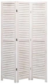 284207 vidaXL Paravan de cameră cu 3 panouri, 105 x 165 cm, lemn
