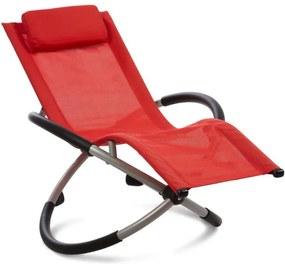 Blumfeldt CHILLY WILLY, roșu, scaun balansora pentru copii, leagan de gradina