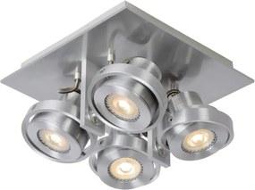 Lucide 17906/20/12 - Lampa spot LED LANDA 4xGU10/4,5W/230V crom