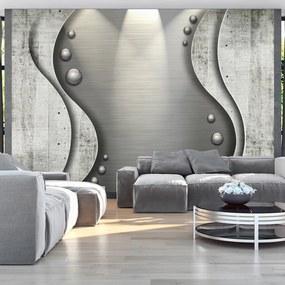 Fototapet Bimago - Concrete sea + Adeziv gratuit 250x175 cm