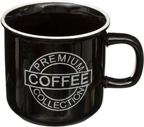 Cana Coffe Black, ceramica, 420 ml, 9.5x9.5 cm