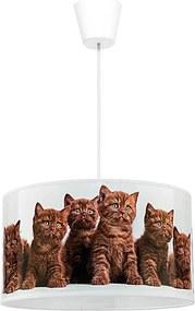 Lustră copii pe cablu CATS 1xE27/40W/230V