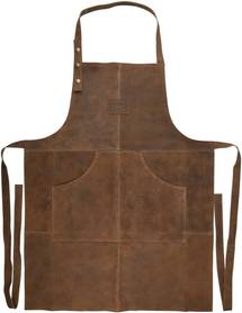 Șorț din piele adecvat pentru exterior Esschert Design Barbecue
