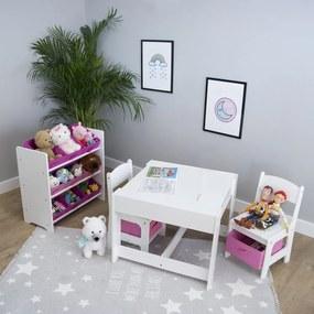 Masă și scaune pentru fetițe – Ourbaby
