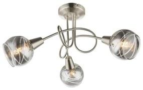 Globo 54348-3 - LED Lampă spot ROMAN 3xE14/4W/230V