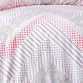 Lenjerie de pat din bumbac LENA pat franțuzesc
