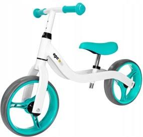 Bicicletă fără pedale WHITE TURQUOISE