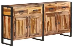 321698 vidaXL Servantă, 172x35x80 cm, lemn masiv acacia finisaj de sheesham