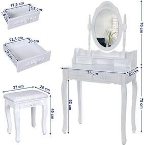 Masă de toaletă Marie Thérése