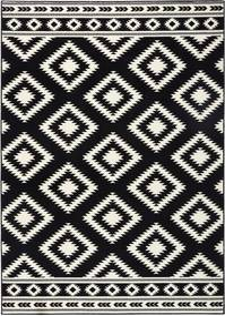 Covor Hanse Home Gloria Ethno, 80 x 200 cm, negru
