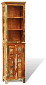 241433 vidaXL Bibliotecă din lemn masiv reciclat, vintage